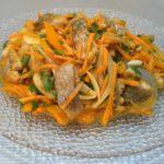 Салат Хе из рыбы по-корейски с морковью