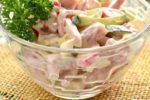 Салат «Берлинский» — рецепт с ветчиной и говядиной