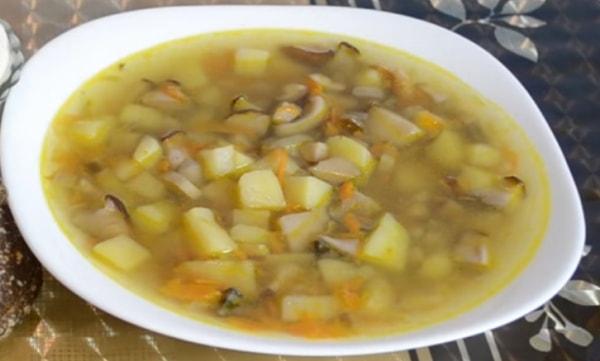 Как приготовить Грибной суп из белых грибов