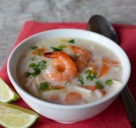 Кокосовый суп — рецепты с курицей, креветками и грибами
