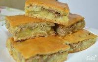 Пирог с сайрой консервированной — 5 пошаговых рецептов с фото
