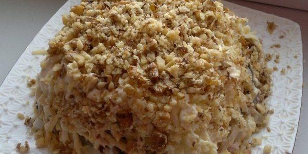 Салат с арахисом. 4 рецепта приготовления