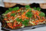 Салат «Дальневосточный» с морской капустой и красной рыбой
