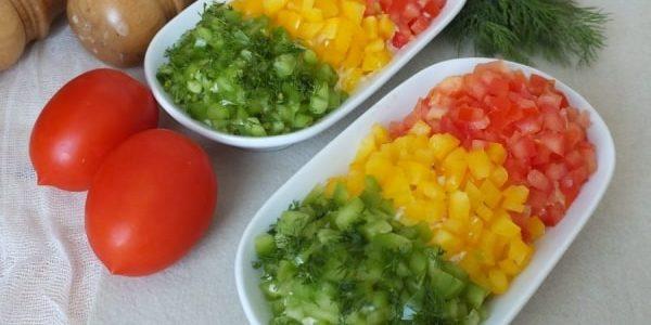 Салат «Светофор»  — 3 классических рецепта
