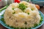 Салат Сугроб на новый год — 5 рецептов на праздничный стол