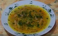 Суп с колбасой / охотничьими колбасками