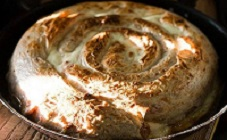 Мясной пирог с фаршем из лаваша